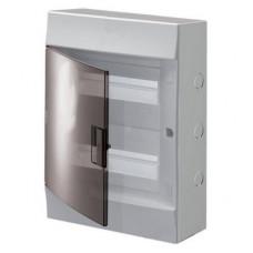 Бокс навесной ABB Mistral41, 24-модуля, пластиковый, прозрачная дверь, с клеммами