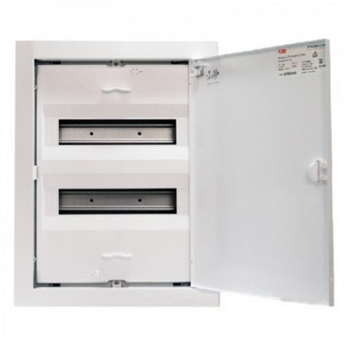 Шкаф ABB UK524N3, 24 модуля, встраиваемый монтаж, с клеммами N/PE