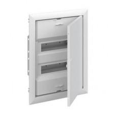 Шкаф ABB UK620P3RU, 24 модулей, встраиваемый монтаж, с самозажимными клеммами N/PE