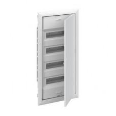 Шкаф ABB UK640P3RU, 48 модулей, встраиваемый монтаж, с самозажимными клеммами N/PE