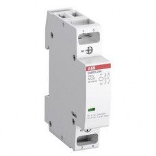 Контактор модульный ABB ESB20-11N-06, (20А АС-1, 1НО+1НЗ), катушка 230В AC/DC