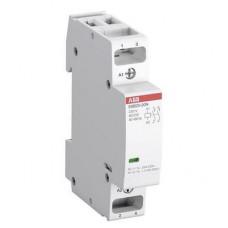Контактор модульный ABB ESB-20-20N-01 (20А АС-1, 2НО), катушка 24В AC/DC