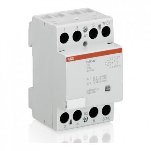 Контактор модульный ABB ESB-40-40 40А AC1 катушка управления 12B AC/DC