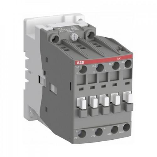 Контактор ABB AX09-30-01-81 9А AC3, 3-полюсный, с катушкой управления 24В АС