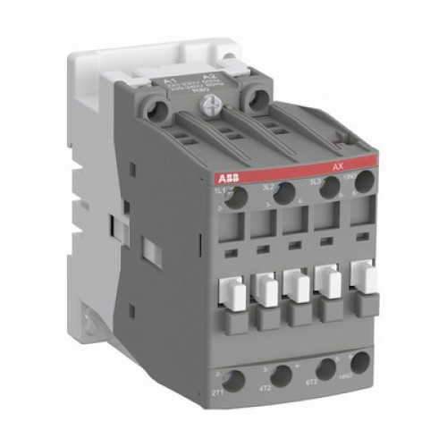 Контактор ABB AX09-30-10-84 9А AC3, 3-полюсный, с катушкой управления 110В АС