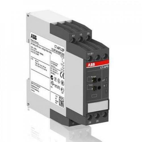 Реле времени ABB CT-APS.21S задержка на отключение 24-240B AC/DC, 0,05..300ч, 2ПК, винтовые клеммы