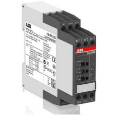 Однофазное реле контроля тока ABB CM-SRS.M2S многофункц. (диапаз. изм. 0.3- 1.5А, 1-5A, 3-15A) питание 24-240В AC/DC, 2ПК, винтовые клеммы