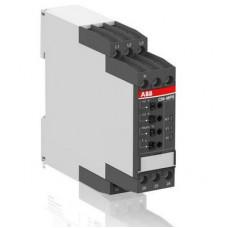 Реле контроля ABB CM-MPS.41P без контроля нуля, Umin/Umax=3х300-380В/420- 500BAC, 2ПК, пружинные клеммы