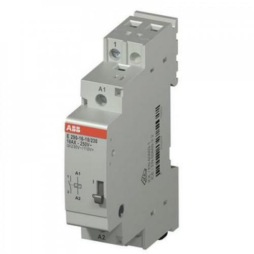 Импульсное реле ABB E290-16-10/12, 16А, с катушкой 12В, с блокировкой