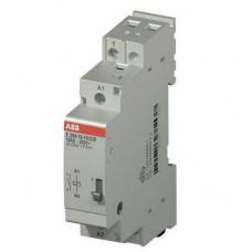 Импульсное реле ABB E290-16-11/12, 16А, с катушкой 12В, с блокировкой