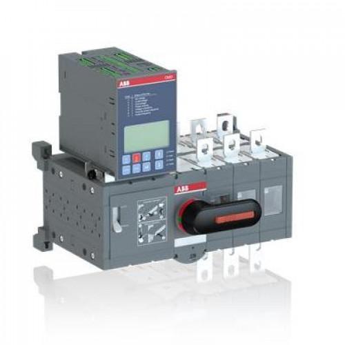 Реверсивный рубильник ABB OTM315E3CB8D230C 3-полюсный, блок АВР OMD800 установлен снизу