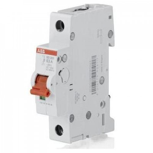 Рубильник (выключатель нагрузки) ABB SHD201/50А 1-полюсный модульный