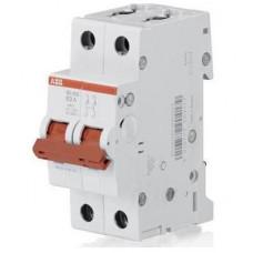 Рубильник (выключатель нагрузки) ABB SD202/63А 2-полюсный модульный