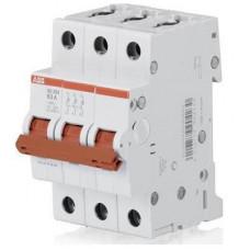 Рубильник (выключатель нагрузки) ABB SD203/50А 3-полюсный модульный