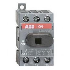 Рубильник ABB OT63F3 до 63А 3-полюсный выключатель нагрузки
