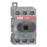 Рубильник ABB OT100F3 до 100А 3-полюсный выключатель нагрузки