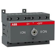 Рубильник реверсивный перекидной ABB OT63F3C до 63А 3-полюсный