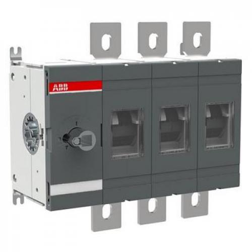 Рубильник ABB OT400E03 400А 3-полюсный выключатель нагрузки (без ручки управления)