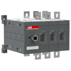 Рубильник реверсивный перекидной ABB OT400E03C до 400A 3-полюсный