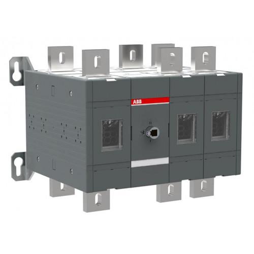Реверсивный рубильник ABB OT400E12C до 400А 3-полюсный (без ручки управления)