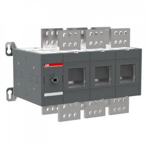 Рубильник ABB OT2000E03 2000А 3-полюсный выключатель нагрузки (без ручки управления и переходника)