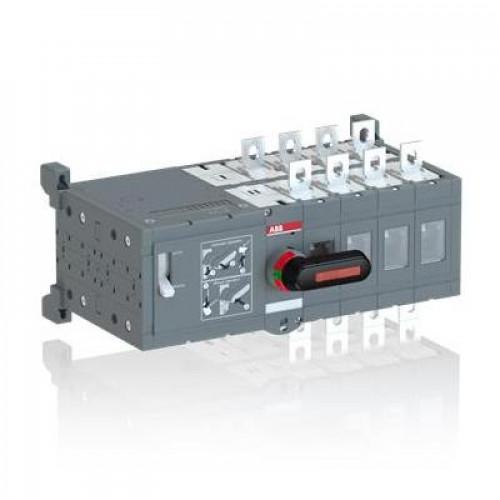 Реверсивный рубильник ABB OTM160E4WCM110V до 160А 4-полюсный с моторным приводом 110В AC/DC