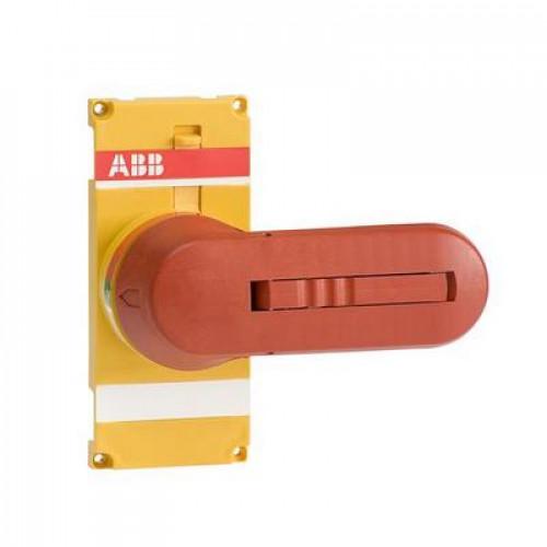 Ручка управления ABB OTVY250EK желто-красная для прямой установки на рубильники OT200..250Е