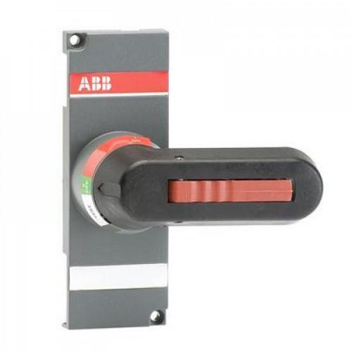 Ручка управления ABB OTV1000ECK черная для прямой установки на реверсивные рубильники OT1000..2500..С