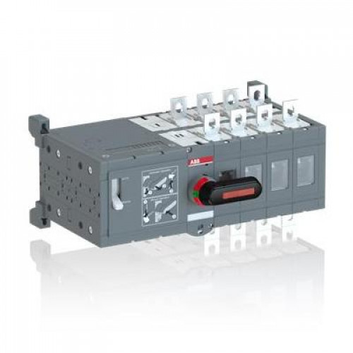 Реверсивный рубильник ABB OTM200E4WCM24D до 200А 4-полюсный с моторным приводом 24В DC
