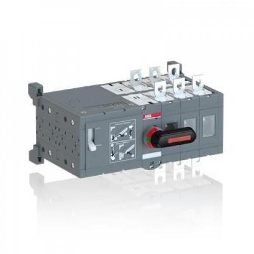 Реверсивный рубильник ABB OTM800E4CM110V до 800А 4-полюсный с моторным приводом 110В AC/DC