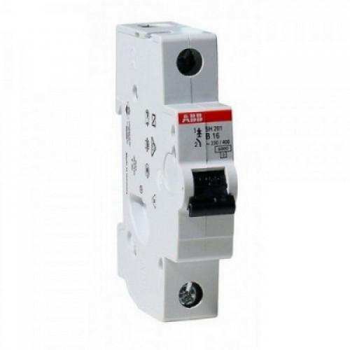 Автоматический выключатель ABB SH201L C16 однополюсный на 16a