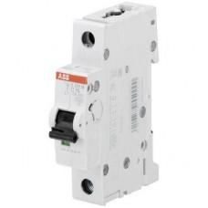 Автоматический выключатель ABB S201M C1 однополюсный на 1a