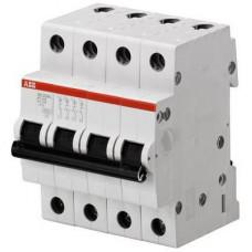 Автоматический выключатель ABB SH204L C50 четырёхполюсный на 50a