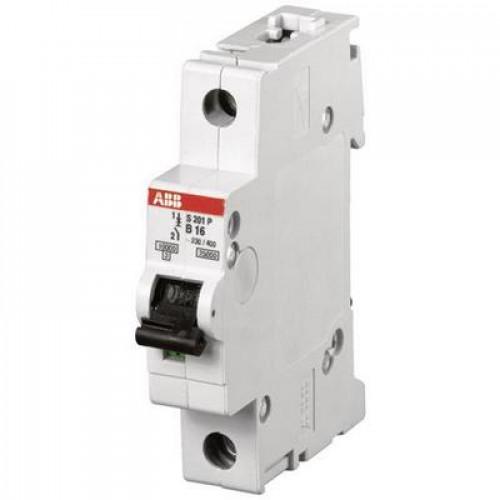 Автоматический выключатель ABB S201P C1.6 однополюсный на 1.6a