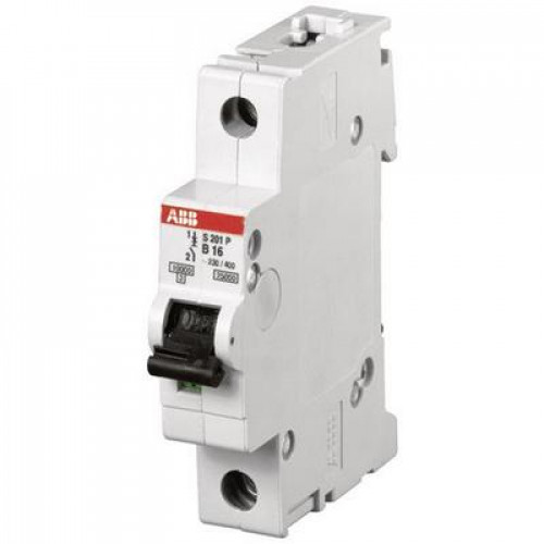 Автоматический выключатель ABB S201P D4 однополюсный на 4a