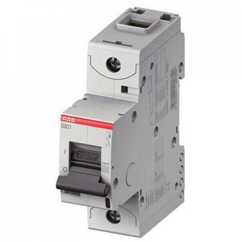 Автоматический выключатель ABB S800C D80 однополюсный на 80a