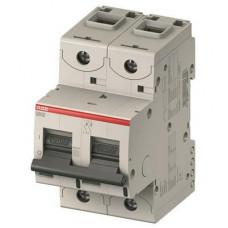 Автоматический выключатель ABB S800C B13 двухполюсный на 13a