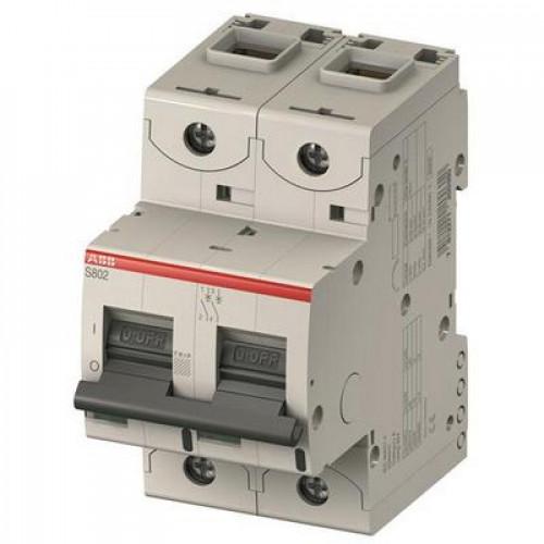 Автоматический выключатель ABB S800C B80 двухполюсный на 80a